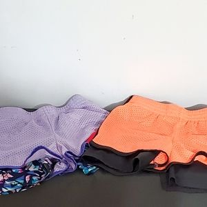 💙2pc C9 Girls Double Layer Athletic Shorts10/12
